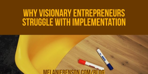 Visionary Entrepreneur Implementation