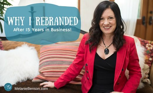 Melanie Benson Rebranded