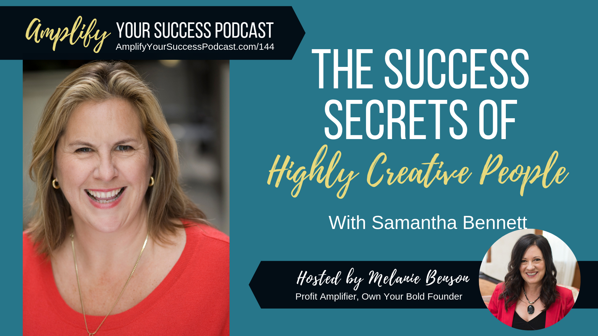 The Success Secrets of Highly Creative People with Samantha Bennett