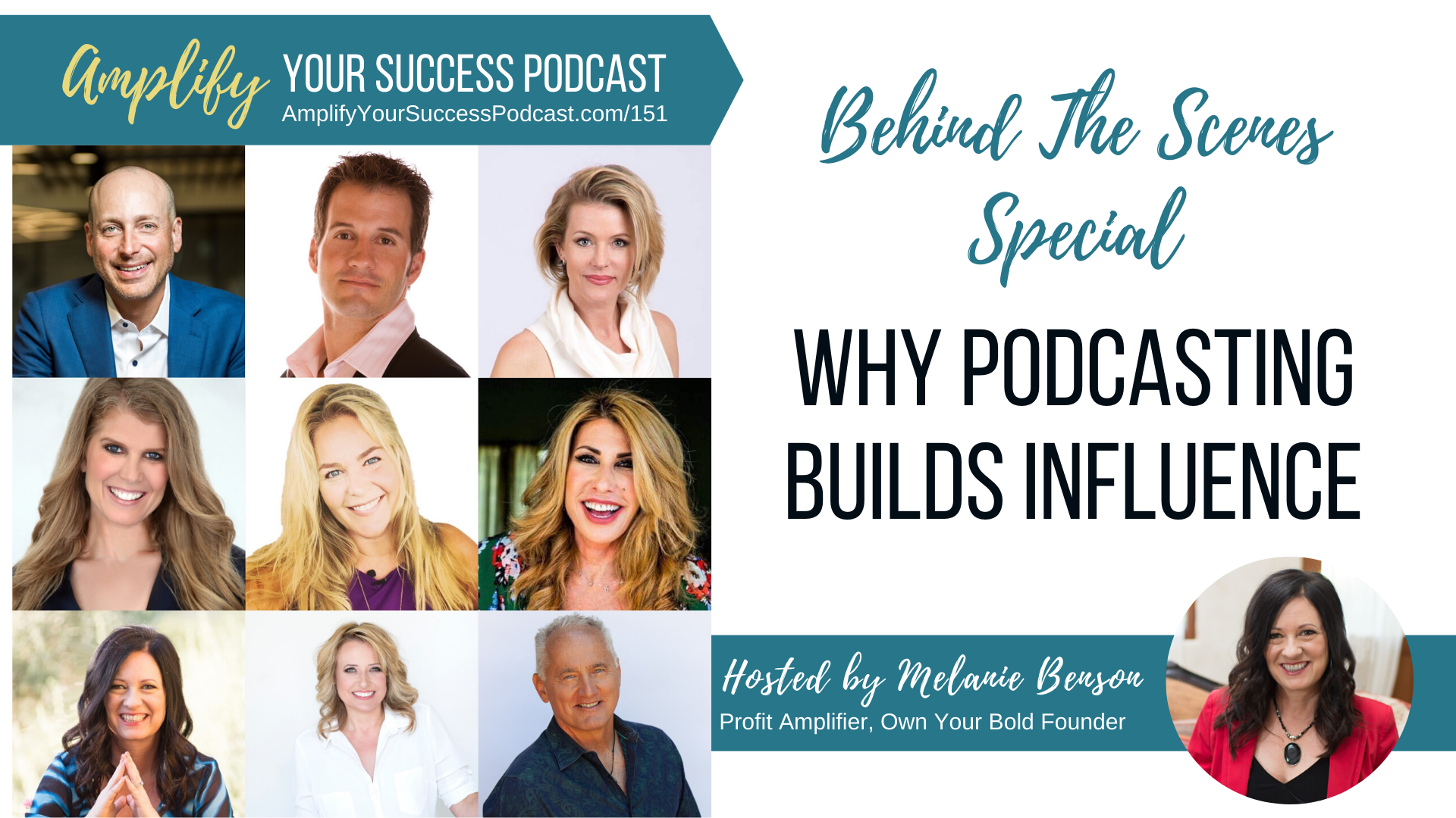 Nine ICONS of Influence Reveal Their Best Podcasting Tips