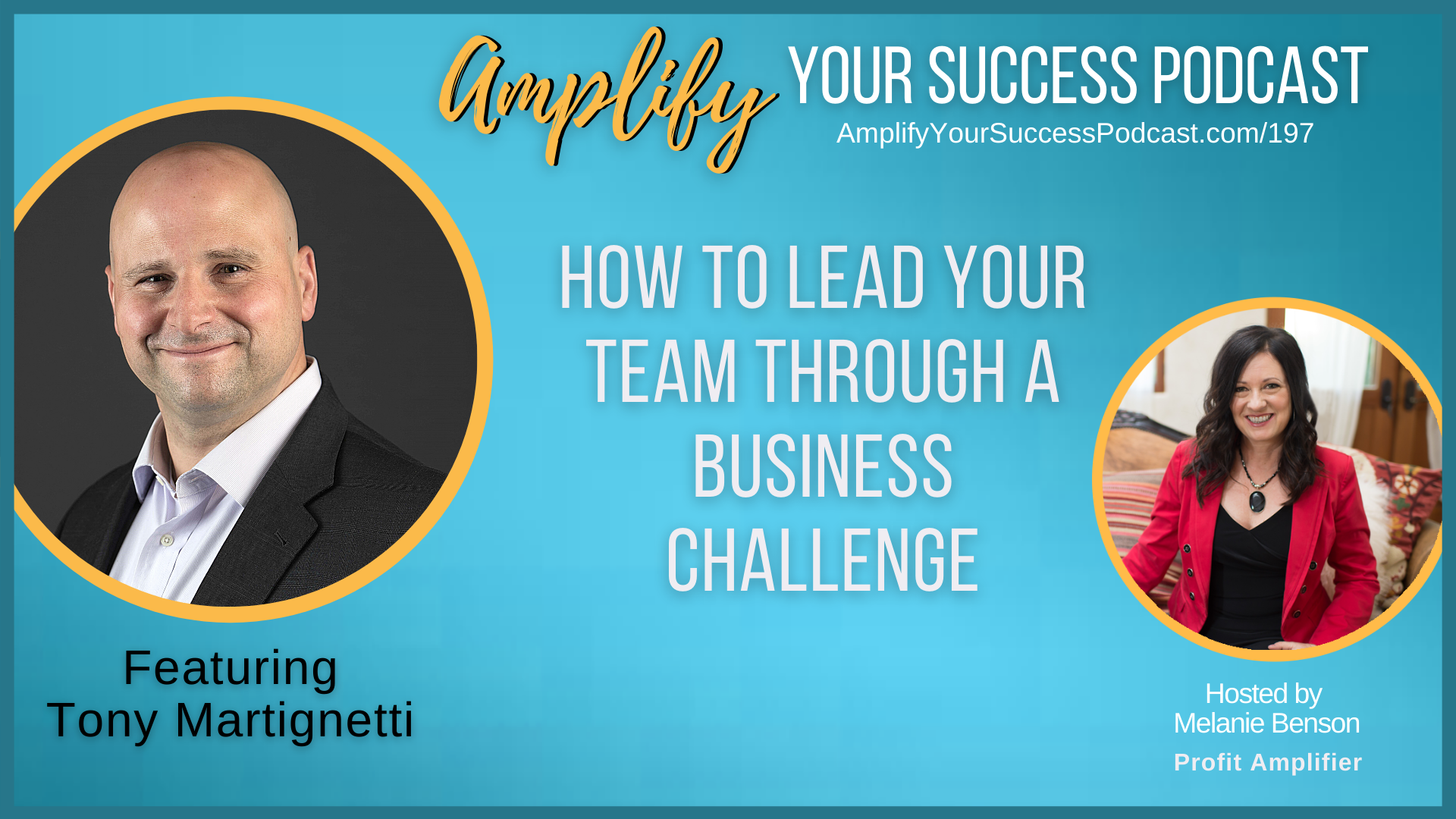 How to Lead Your Team Through a Business Challenge with Tony Martignetti