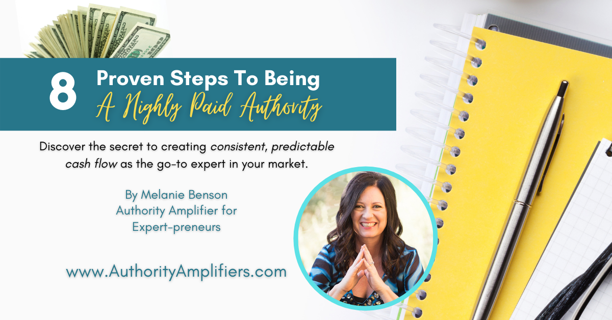 8 steps to Amplify authority
