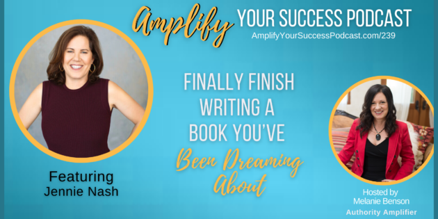 Finally Finish Writing a Book You've Been Dreaming About